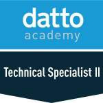 Datto Academy - Technical Specialist II